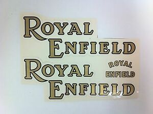 Royal-Enfield-Motorcycle-Sticker-Set-3-pieces-NEW-F-36