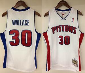 ce27947d8 Image is loading Rasheed-Wallace-Detroit-Pistons-Mitchell-amp-Ness-NBA-
