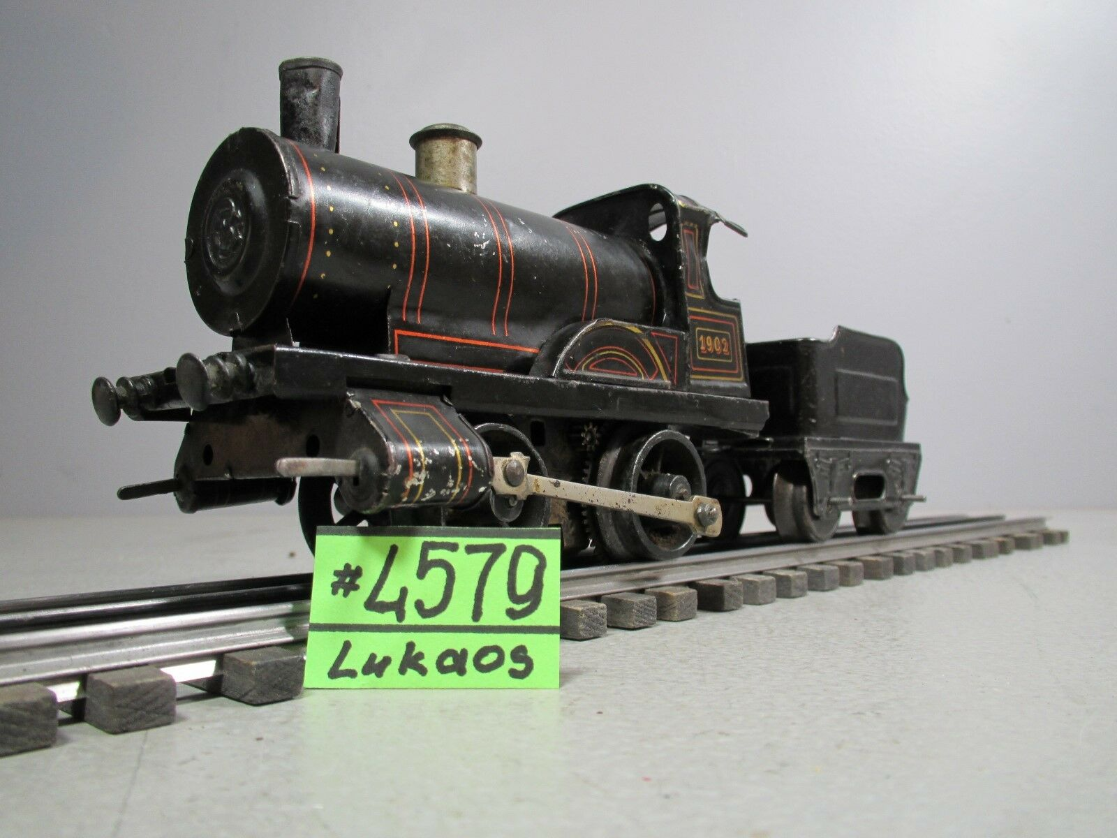 Vintage Bing  Steam 1902 DRGM DRGM DRGM Locomotive & Tender e5dff4