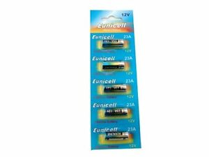 Pack of 4 A23 Alkaline Batteries AKA MN21 23A V23GA L1028 by PK Green