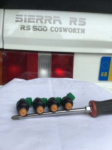 4x Ford Sierra Escort Rs Cosworth 2.0 T YB Vert 803 carburant injecteurs 0280150803