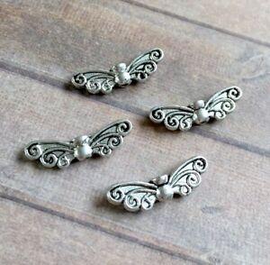 Pack-of-20-Metal-Beads-Angel-Wings-Spacer-beads