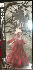 Queen Of Shadows by Nene Thomas 1000 pc Panoramic Jigsaw Puzzle Brand New!