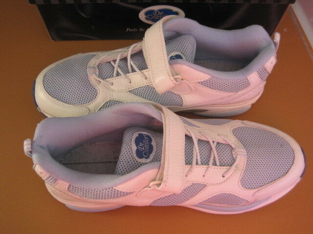 Dr. Comfort Victory Womens Leather Athletic shoes bluee white 10M STKNew