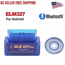Super Mini OBD2 OBDII ELM327 v2.1 Android Bluetooth Adapter Auto Scanner To
