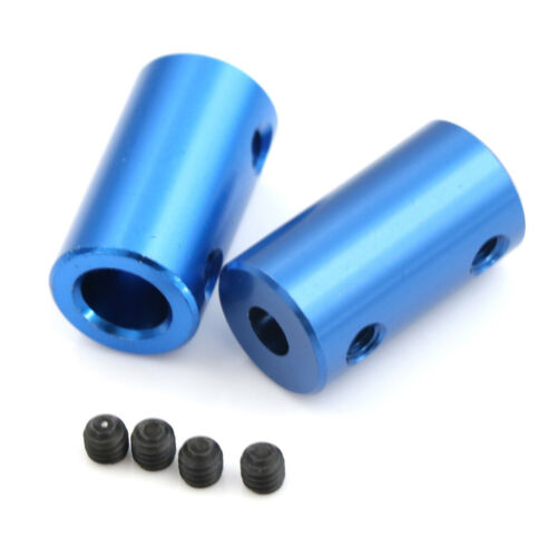 Aluminum Alloy 3D Printer Part Blue Flexible Shaft Coupler Screw Part 5mm 8mm JB