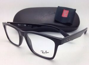 88d495224b New RAY-BAN Rx-able Eyeglasses RB 7025 2000 53-17 Black Frames with ...