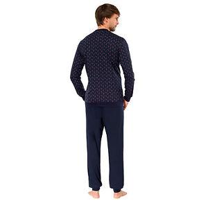 Details zu SCHIESSER Herren Schlafanzug lang Gr. 26 27 48 50 52 54 56 58 60 Pyjama lang