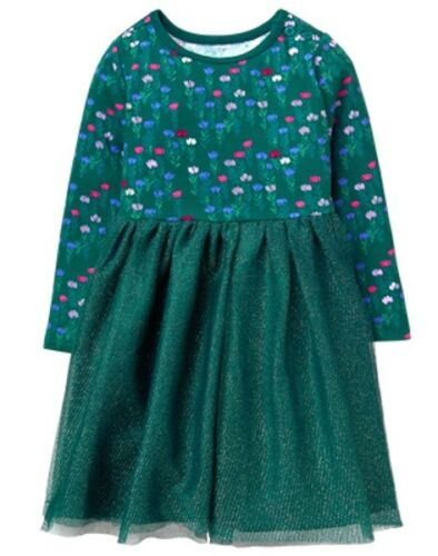 NWT Gymboree Woodland Weekend Tulle Dress Wildflower Toddler Girls
