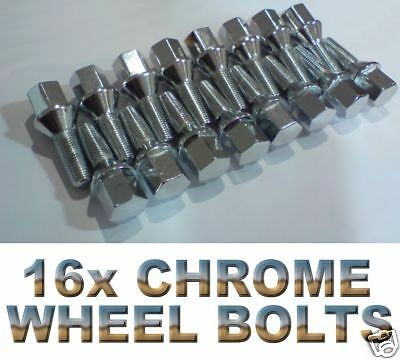M14 X 1.5 TAPERED 40MM ALLOY WHEEL BOLTS /& LOCKING FIT PORSCHE BOXSTER 987 986
