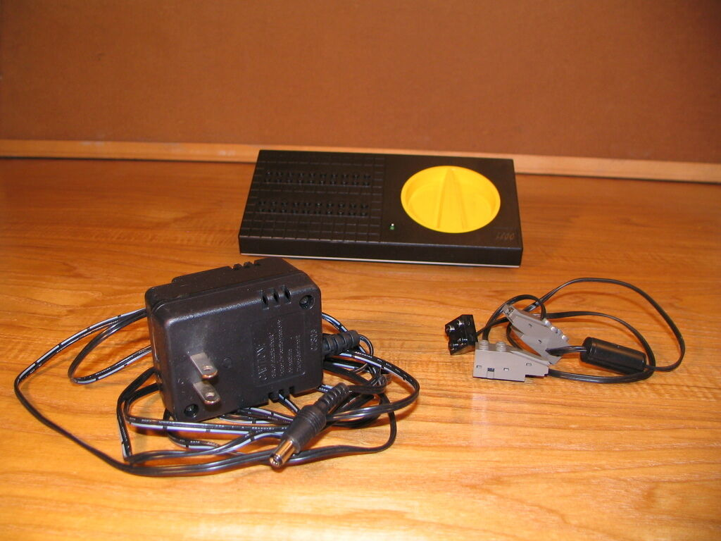 Lego train power supply transformer controller, adapter, wires 9 volt 9v 4548  3