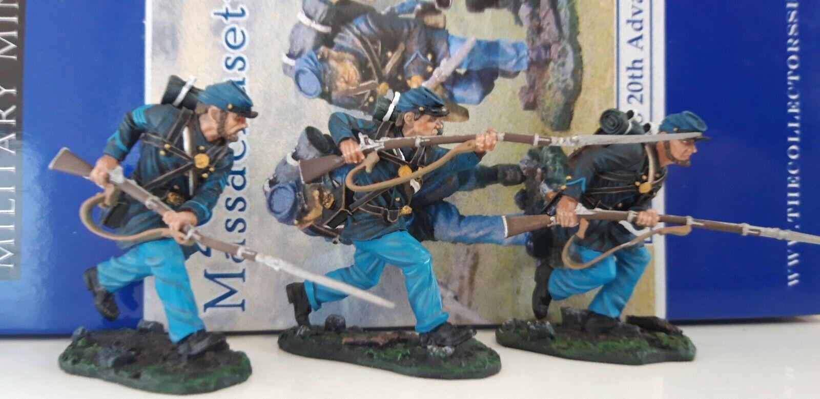 Los coleccionistas muestran ACW cs00415 20 Massachusetts Massachusetts Massachusetts United Infantería 1  30 Metal de0