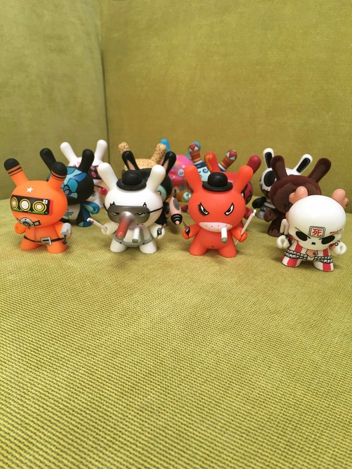 Kidrobot Dunny series 4 set