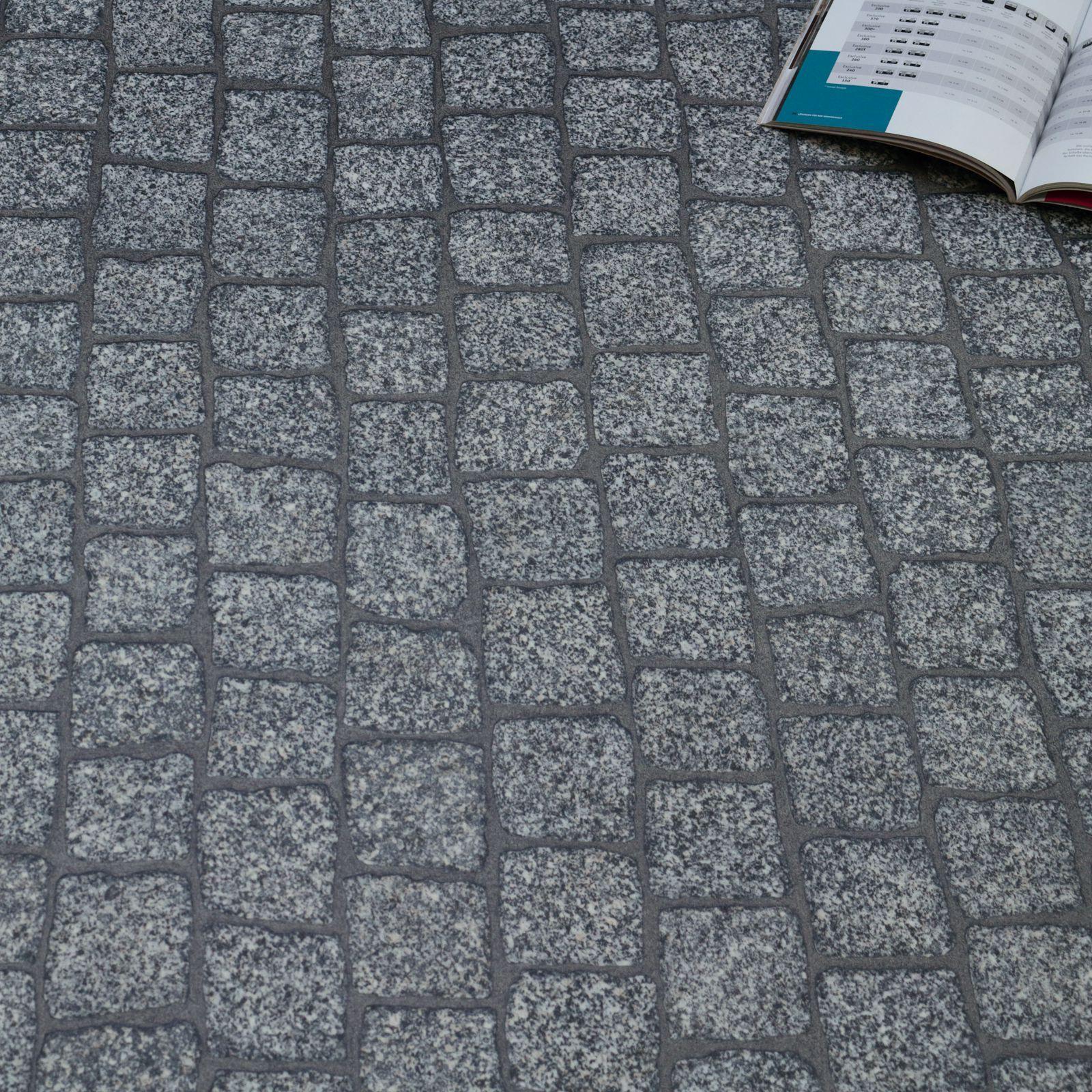 PVC Bodenbelag Pflastersteine Kopfstein Pflaster CV Vinyl Breite 2 m  /m²