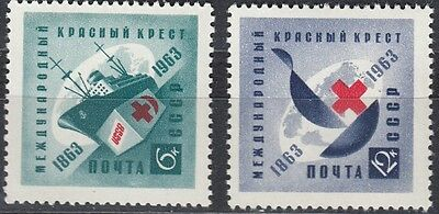 2787-2788** 100 Jahre Internationales Rotes Kreuz Cccp Sowjetunion Nr