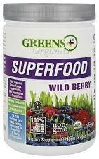 Greens Plus - Organic Superfood Powder Wild Berry - 8.46 oz.
