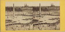 Paris France Photo Stéréo Stereoview Vintage albumine ca 1860