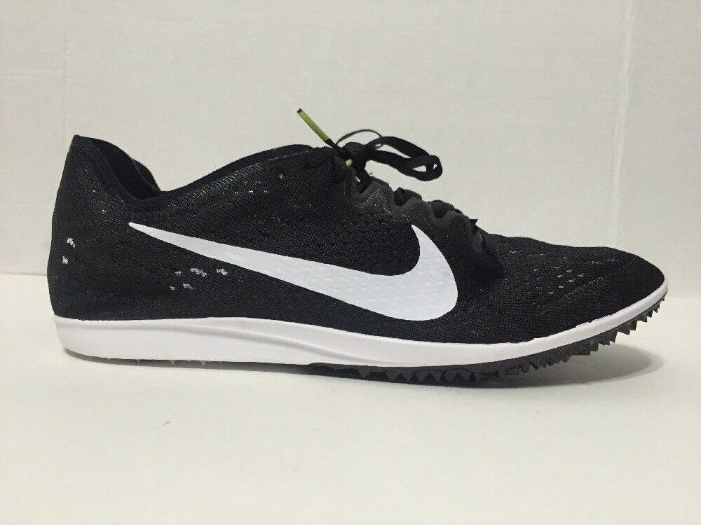 Nike Zoom Matumbo 3 Long Distance Spikes Track Field Black 835995-017 Sz 10.5