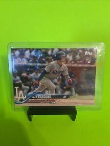 Alex Verdugo Rookie Card 🔥RC #281 Los Angeles Dodgers 2018 Topps