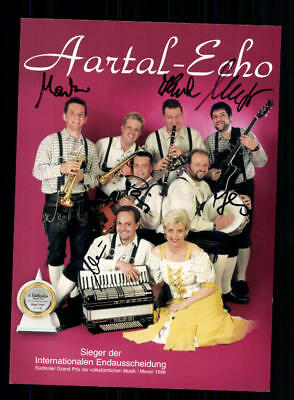 Analytisch Aartal Echo Autogrammkarte Original Signiert ## Bc 127670 Original, Nicht Zertifiziert