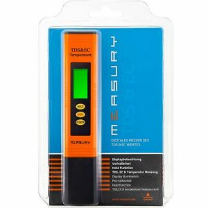 EC-Messgeraet-TDS-Meter-mit-Thermometer-Leitwertmessgeraet-Leitfaehigkeitsmessgeraet