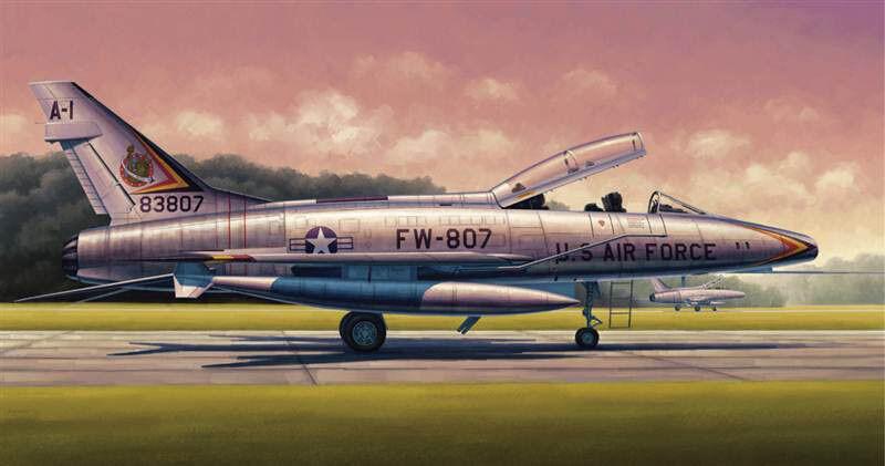 Trumpeter - 1 48 Scale - F-100F Super Sabre