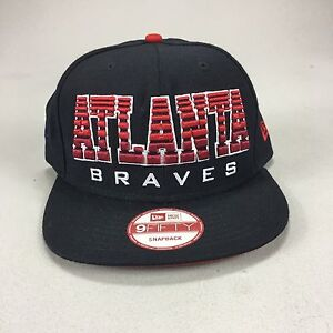New Era 9 fifty 9 50 fitted Atlanta Braves Brand New Baseball ... 78a42e0e77d