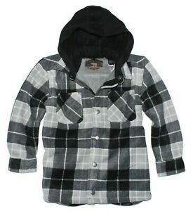 Freedom Foundry Boy's Fur Lined Hooded Jacket Age 5//6 NEW