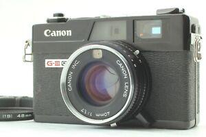Mint-Canon-Canonet-ql17-G-III-schwarz-Rangefinder-Film-Camera-aus-Japan-1204