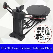 DIY Open Source 3D Laser Scanner Adapter Object Plate For Ciclop 3D Printer New
