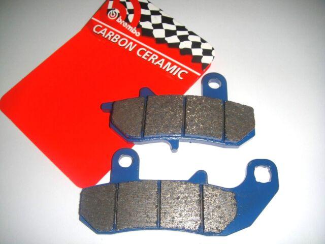 Rear Brake Pads BREMBO Carbon 07SU1718 Suzuki 650 Dr R ,Rs , Rse 1991