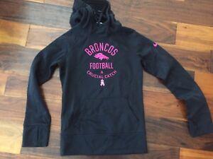 pink denver broncos sweatshirt