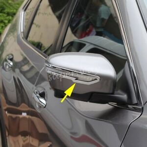 Chrome-Side-Rearview-Wing-Mirror-Trims-For-Nissan-X-Trail-T32-Qashqai-J11-Murano