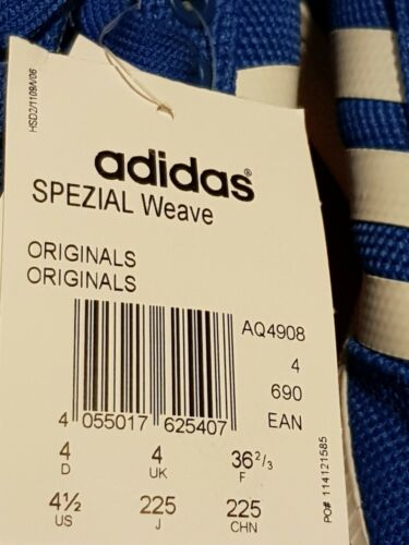 Adidas Basketball Weave 4 eur36 Taille Baskets 2 Originals 3 Spezial Bnwt rqfrg