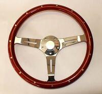 60-69 Chevy C K Series Chevrolet Pick Up Truck Steering Wheel Wood 15 Classic
