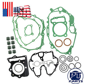 Gasket Kit Top & Bottom End Set For 1999 2000 2001 2002 2003 2004 Honda TRX400EX