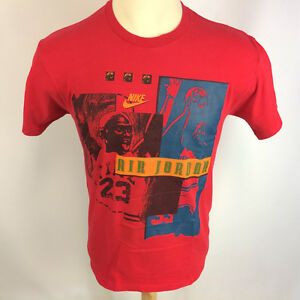 96047ee11c679d Rare Vintage Gray Tag 80s 90s Nike Air Jordan Basketball T Shirt  23 ...