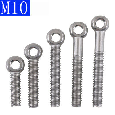 M5 304 Stainless Steel Machinery Shoulder Lifting Eye Bolt O ring head Axle bolt