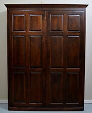 Custom Built High Quality Wood Raised Panel Murphy Bed QUEEN Size