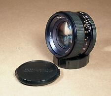 Contax Carl Zeiss Planar 50mm f/1.4 T* AEJ Standard C/Y Yashica Mount Lens!