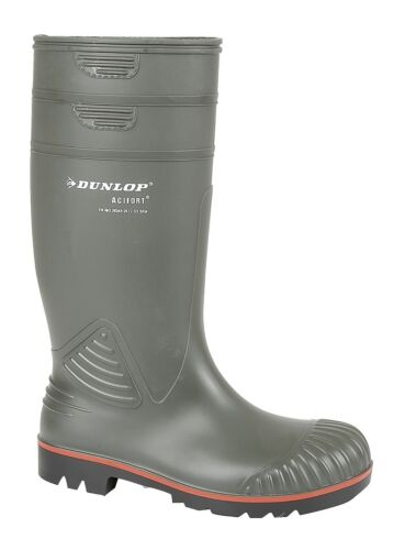 Dunlop ACIFORT W138 Heavy Duty Full Safety/' Wellingtons