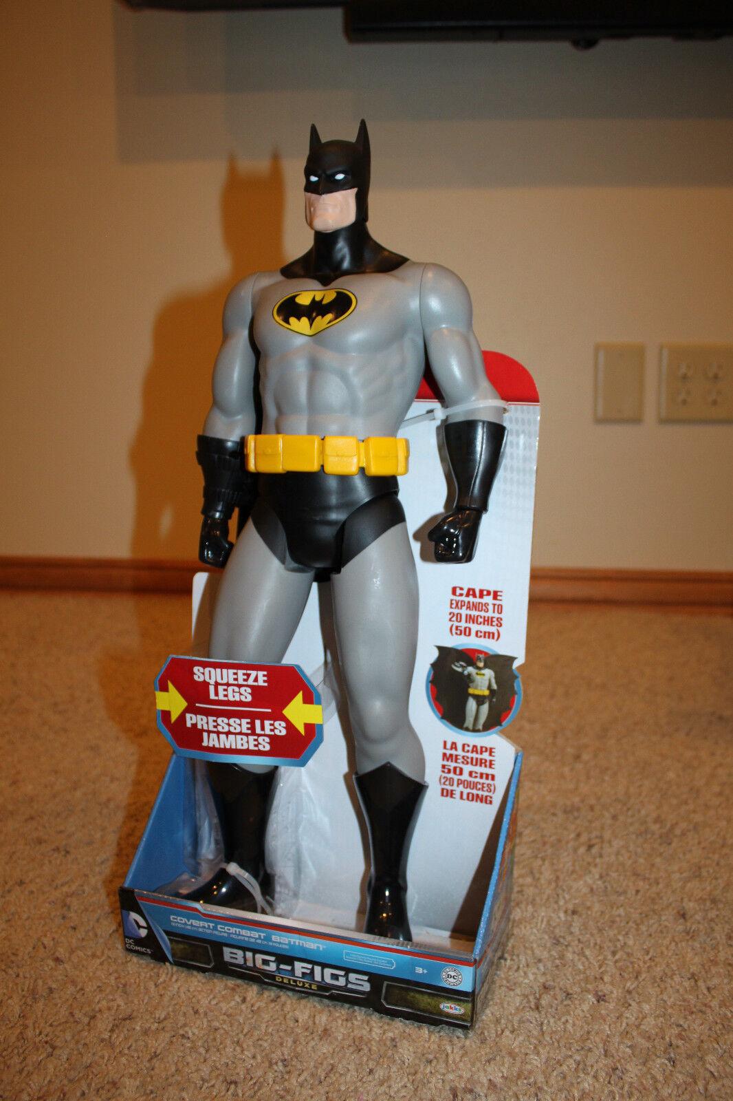 NEW-  DC Comics Deluxe Big Figs Action Figure Toy 19  - Cogreen Combat Batman