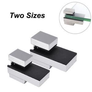 Wall Mount Glass Shelf Brackets Adjustable Floating Shelf Wood Support Metal