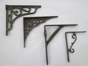 Cast-Iron-Vintage-Old-Style-Shelf-Support-Book-Sink-Toilet-Cistern-Bracket