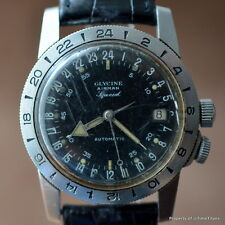 GLYCINE AIRMAN SPECIAL WORKING HACKING SECONDS A. SCHILD 1700/1 AUTOMATIC 36MM