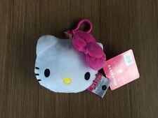 NEW Sanrio Hello Kitty Bag Backpack Luggage ID Tag Bow Plush