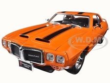 1969 PONTIAC FIREBIRD TRANS AM ORANGE 1:18 DIECAST MODEL BY ROAD SIGNATURE 92368