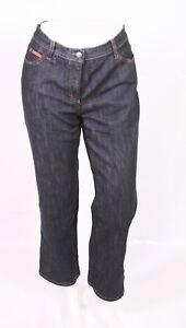 best supplier catch later Details zu BJ1-28 Brax Carola Damen Jeans grau-schwarz Gr. 40 L29 Stretch  straight leg