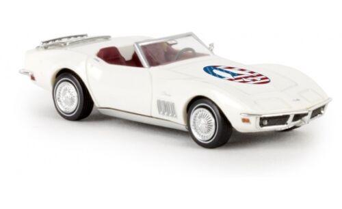 "Brekina Corvette convertible /""Peace/"" 1:87 #19982"