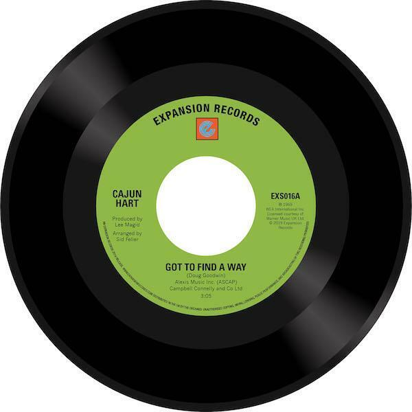CAJUN HEART Got To Find A Way / Lover's Prayer NEW NORTHERN SOUL 45 (EXPANSION)
